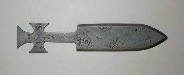 Desperado throwing knife