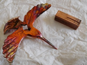 Copper hummingbird