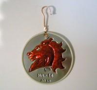 Horsehead ornament
