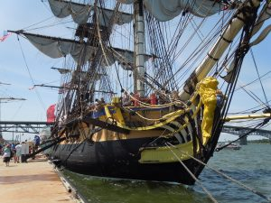 French tall ship Hermione