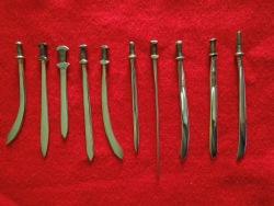 Small nail swords